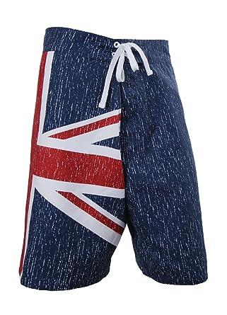 6e6377b27b095 Mens UK Union Jack Flag Swim Board Shorts at Amazon Men's Clothing ...