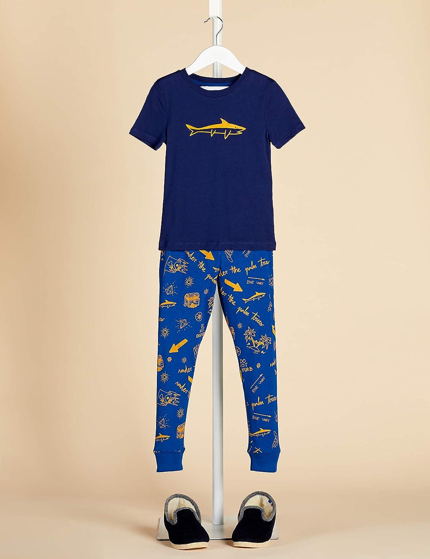 2er-Pack RED WAGON Jungen Pyjama-Set aus Baumwolle Marke