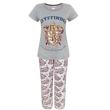 Harry Potter Gryffindor Women s Pyjamas  Amazon.co.uk  Clothing c153cbda7