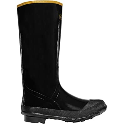 """Economy Knee Boot 16"""" Black (24009033)  Waterproof  Insulated Modern Comfortable Hunting Combat Boot Best For Mud Snow"""