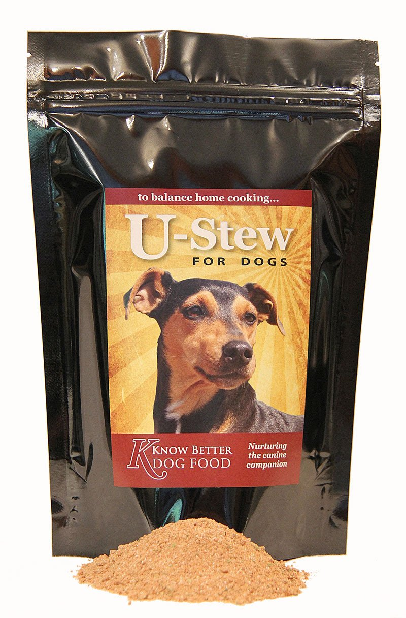 2lb U-Stew for Dogs Make your own complete cooked dog food at home  (2lb)