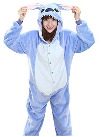 Akanbou Cute Animal Pajamas Onesies Flannel Plush Anime Pajama Cartoon Cosplay Costumes Unisex Adult Warm Sleepwear