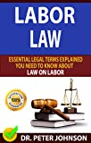 LABOR LAW: Essential Legal Terms Explained You Need To Know About Law On Labor! (English Edition)