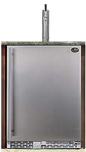 Beer Meister Single Tower with Stainless Door Built-in kegerator - Premium Series