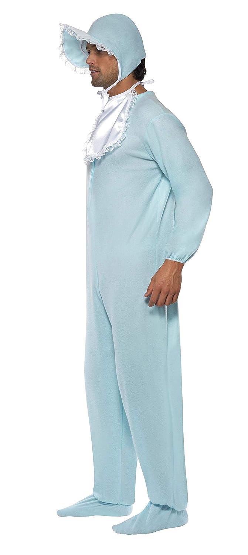 Smiffys Smiffys-28602 Disfraz de bebé varón con Pelele, con Gorro Color Azul Tamaño único 28602: Smiffys: Amazon.es: Juguetes y juegos
