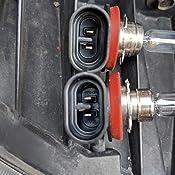 automotive wiring harness melted amazon com h11 high temperature ceramic headlight plug  amazon com h11 high temperature ceramic headlight plug