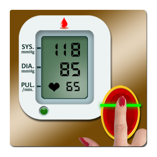 Finger Blood Pressure Scanner (Blood Pressure Simulator)