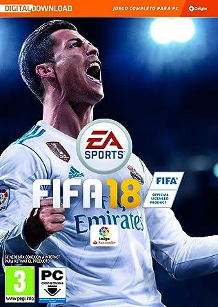 FIFA 18 - Edición estándar (La caja contiene un código de descarga ...