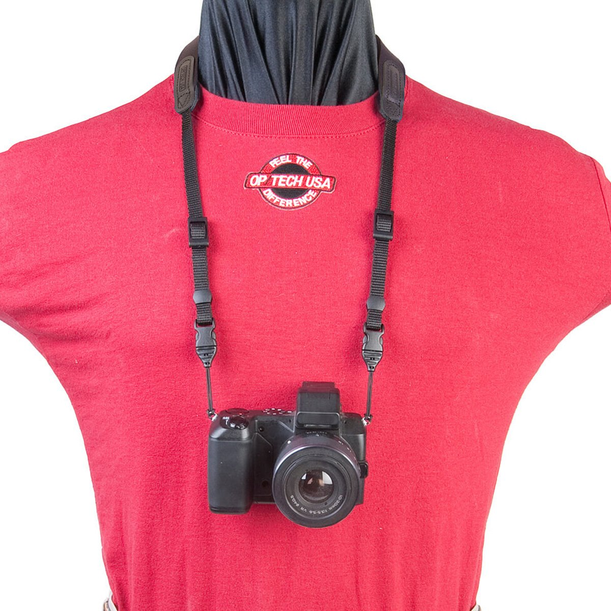 OP/TECH Bin/Op Strap QD - Correa para cámaras compactas y prismáticos, color azul marino OP/TECH USA 2203021