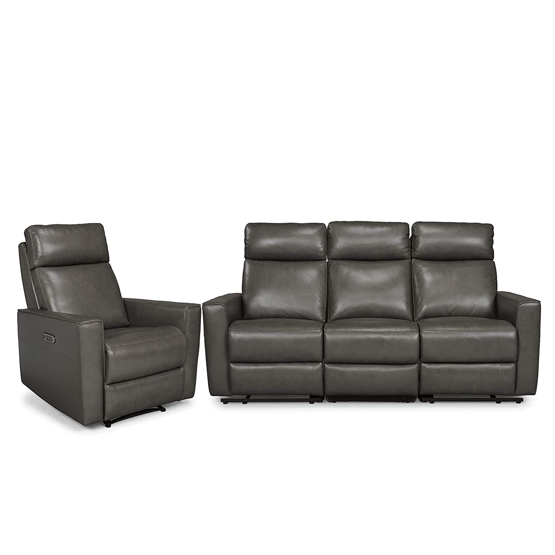 Pleasant Amazon Com Homestyles By Flexsteel Nuova Leather Power Ibusinesslaw Wood Chair Design Ideas Ibusinesslaworg