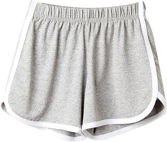 Pantaloncini Bermuda estivi da donna pantaloni corti pantaloni lunghi a