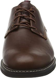 terminar Competir Robar a  Timberland Brook Park - Zapatos Derby para hombre, color Marrón (Red Brown  Smooth), talla 43.5 EU: Amazon.es: Zapatos y complementos