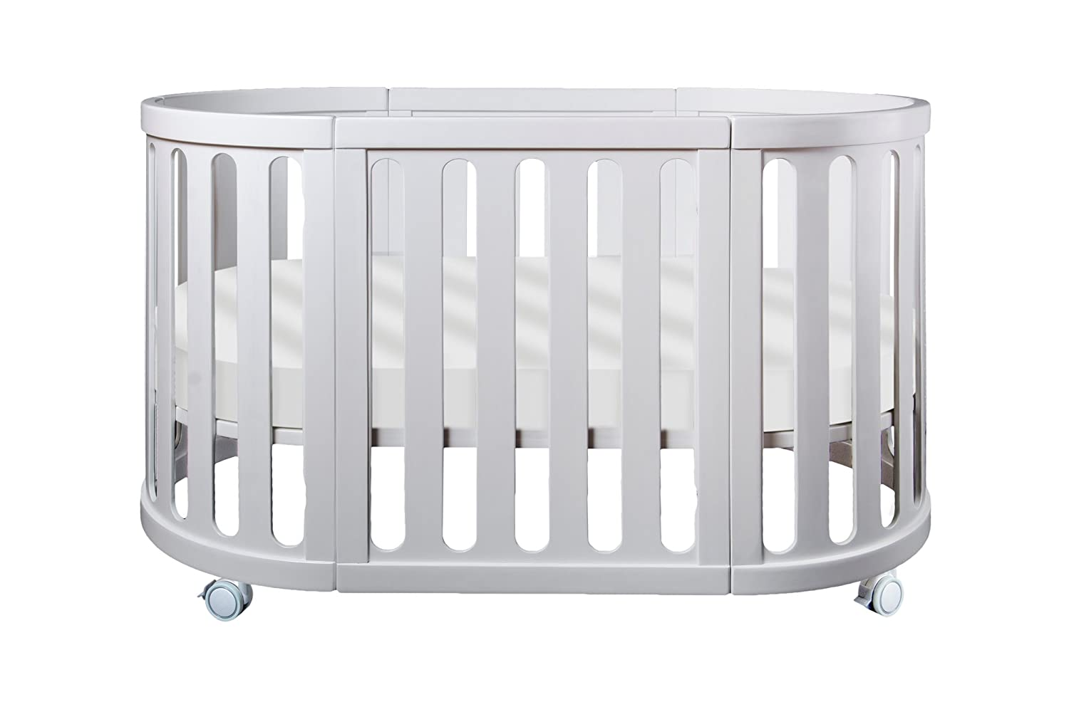 fitted sheet Stokke /& Oval Bassinet or Crib Waterproof Cover