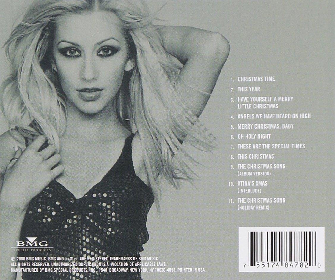 christina aguilera my kind of christmas amazoncom music - Have Yourself A Merry Little Christmas Christina Aguilera