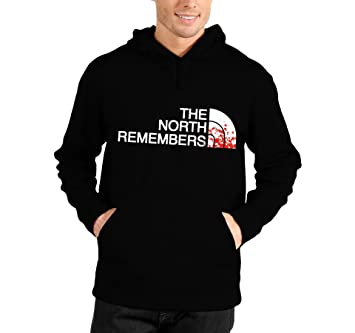 Sudadera con capucha con texto «The North Remembers» – Humor – Game Of Thrones – Juego de Tronos – Serie TV – Algodón Negro negro: Amazon.es: Deportes y ...