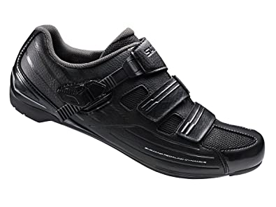 Shimano Men\u0027s RP3 Black Road Cycling Shoes - 40