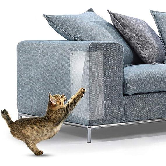 TJW 2pcs Protectores de arañazos para Muebles,Protector de sofá de Mascota de Vinilo,Muebles Rascador para Uñas de Gatos, 47 * 15 cm: Amazon.es: Productos ...