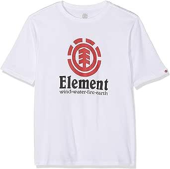 Element Vertical SS Boy Camiseta de Manga Corta Niños