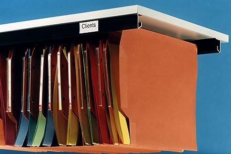Cartelle Sospese Per Ufficio.Kit Class Binario Per Cartelle Sospese Da Montare Sotto