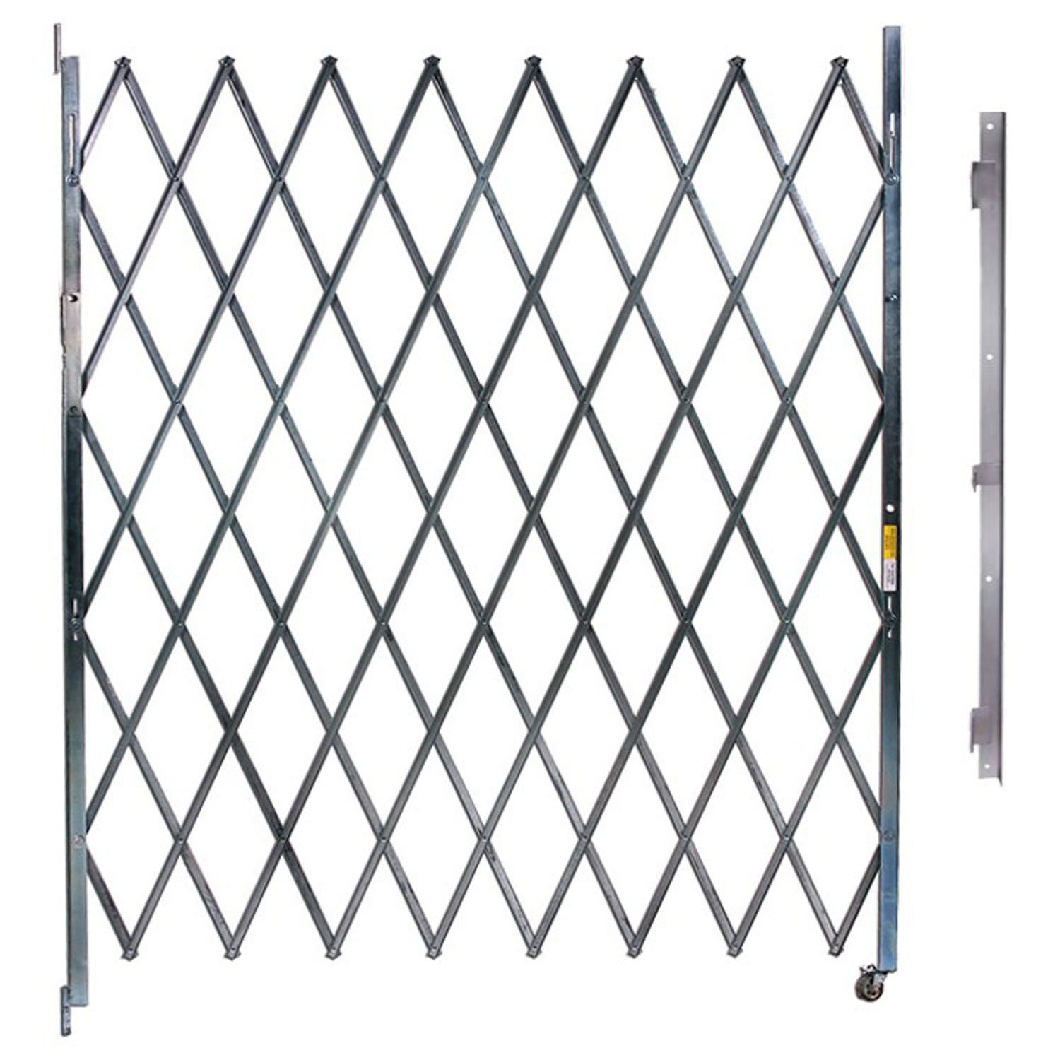 Single Folding Gate, 3'W to 4'W and 6'H by Illinois Engineered Products