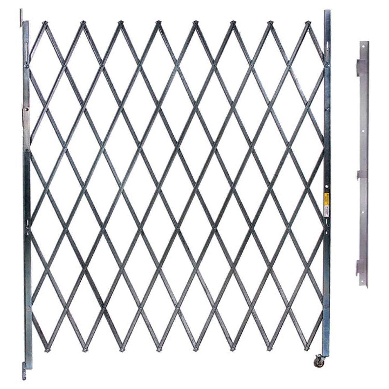 Single Folding Gate, 6'W to 7'W and 6'H