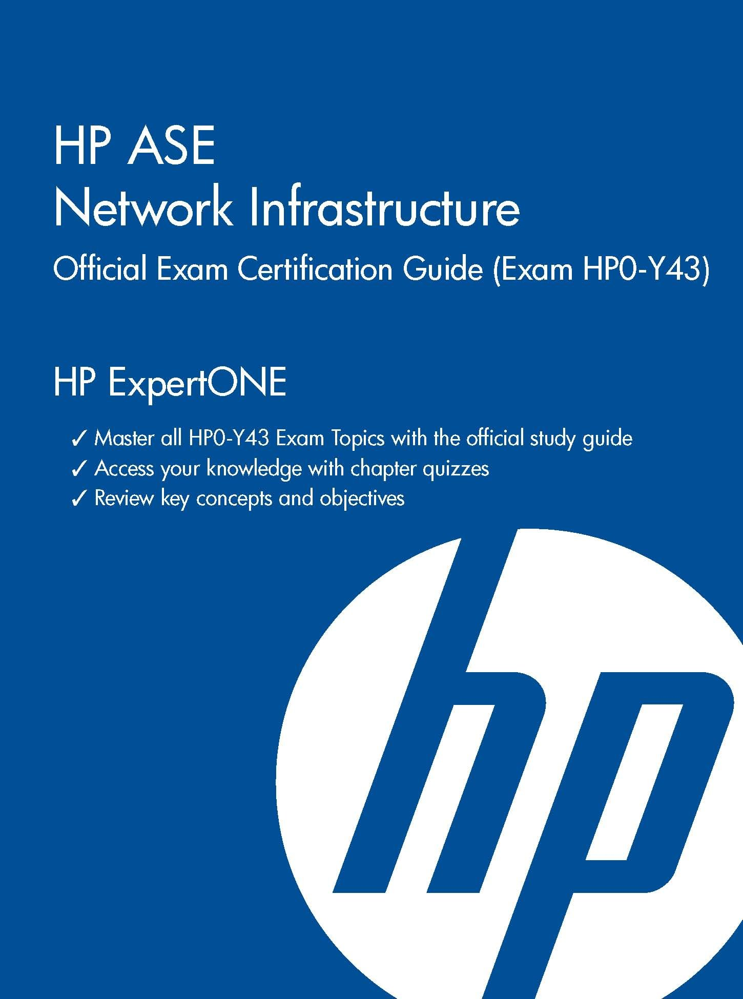 Hp Ase Network Infrastructure Official Exam Certification Guide