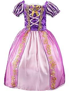 PinkLu Disfraces de Princesa para niñas Vestidos de Princesa para ...
