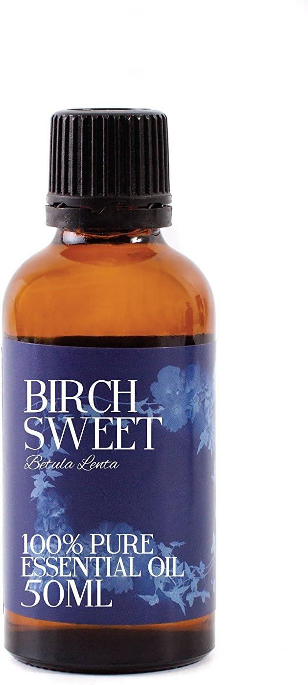 Mystic Moments - Aceite Esencial Dulce de Abedul, 50 ml, 100% Puro