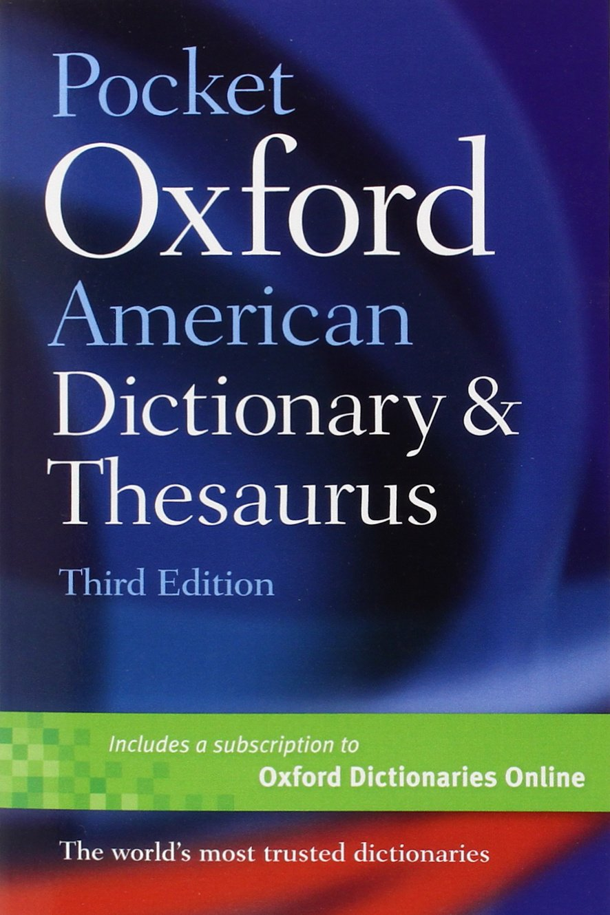 Pocket Oxford American Dictionary and Thesaurus: Oxford: 0884866529079:  Books - Amazon.ca