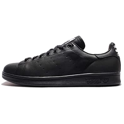 a50d99d57 Adidas Stan Smith x Pharrell Williams Solid Black Trainer  Amazon.co.uk   Shoes   Bags