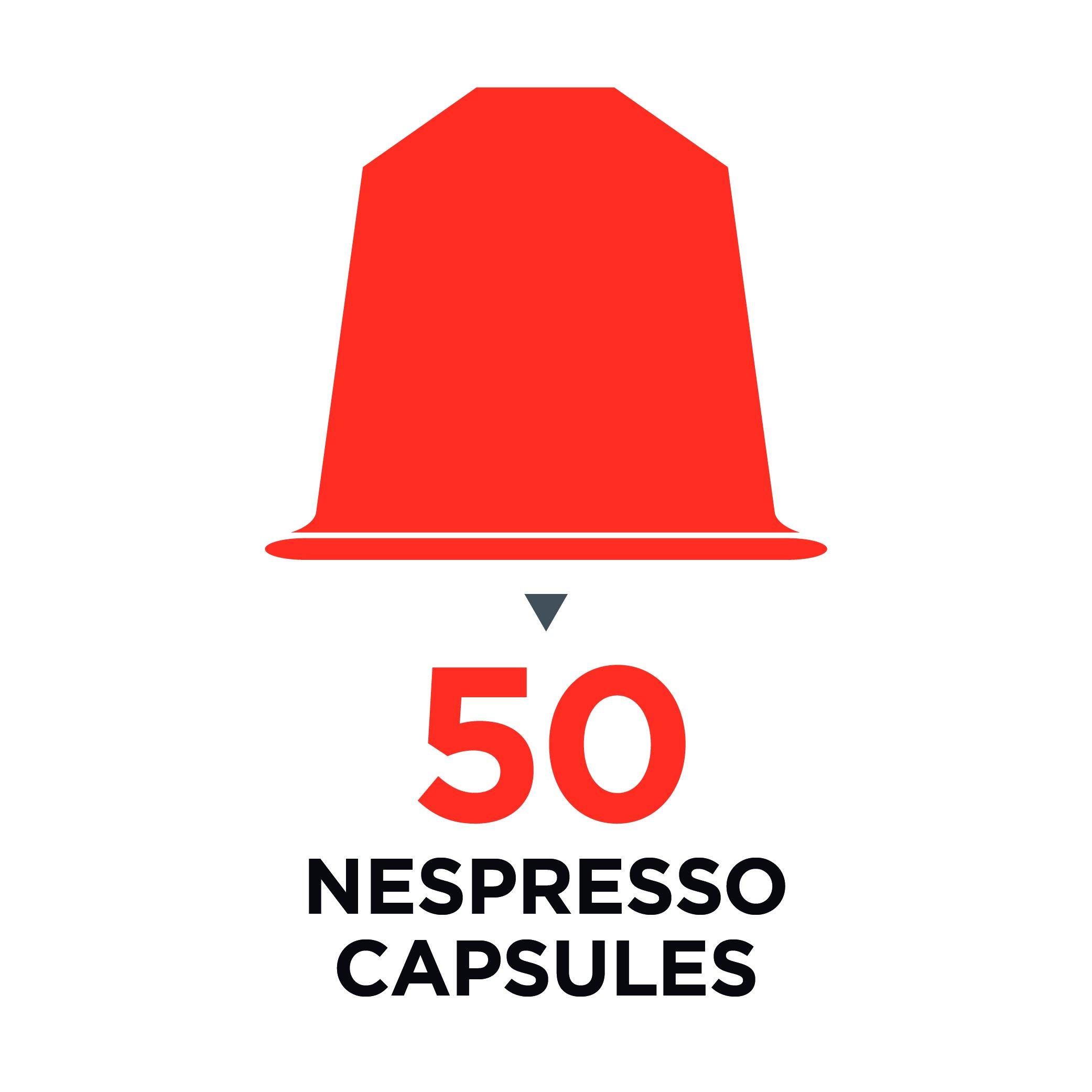 BluePeak Nespresso Coffee Capsule Rack Holder Carousel - Holds 50 Capsules OriginalLine. Elegant and Modern Chrome Finish. 360-degree Rotation. For Citiz, Pixie & Latissima Machines by BluePeak (Image #4)