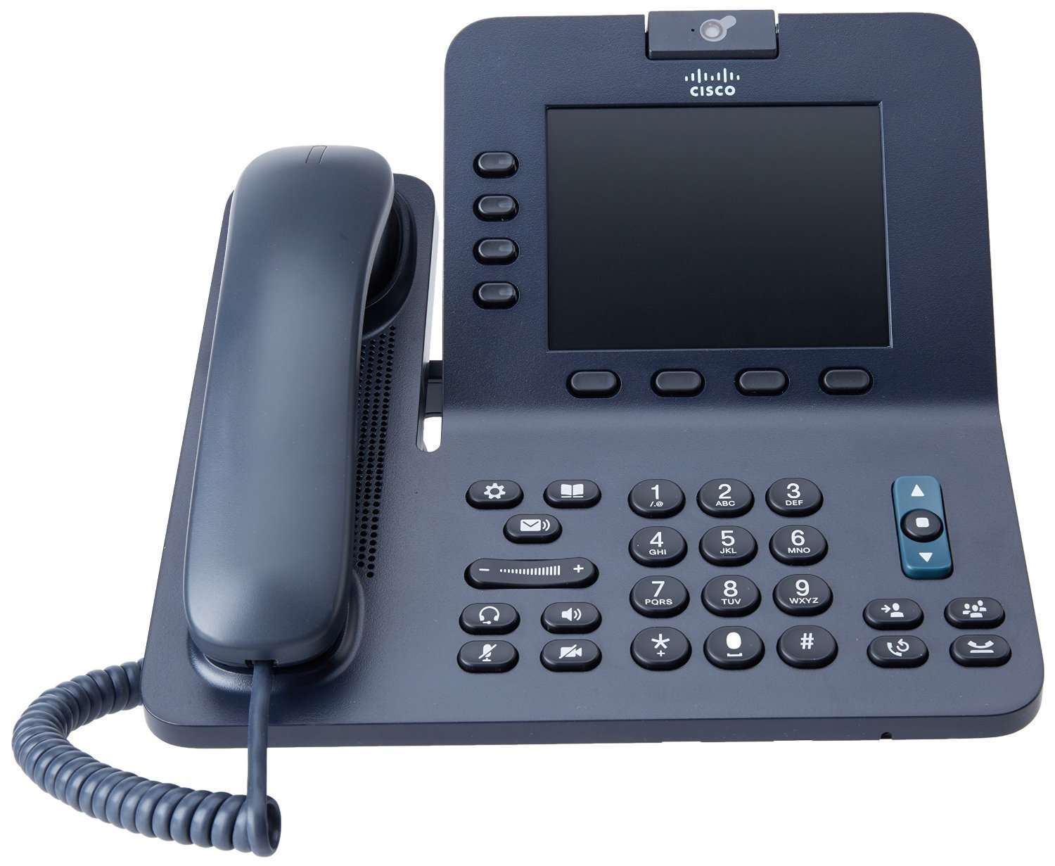Cisco 8945 4-Line Landline Office VOIP IP Telephone - PoE  (Renewed) (Power Supply Not Included) by Cisco