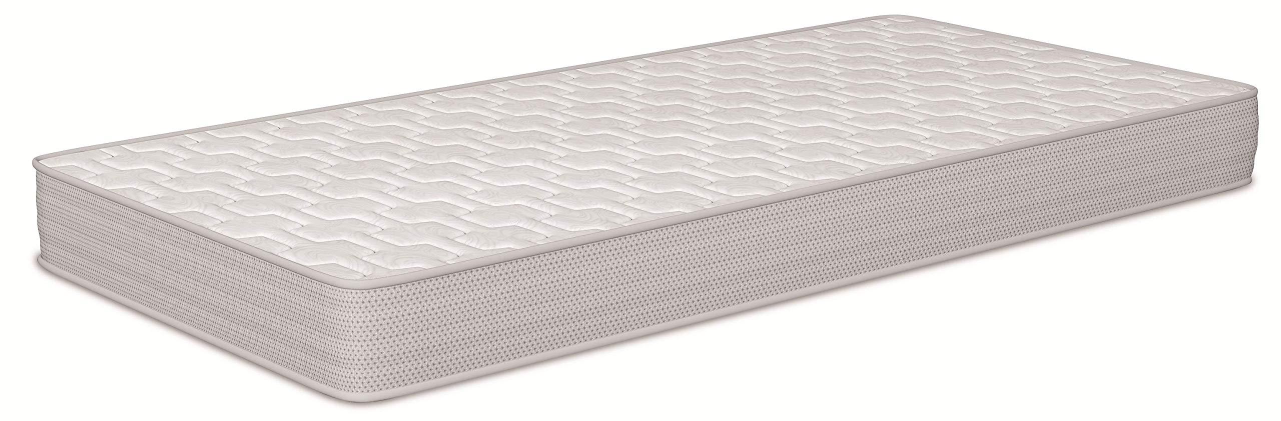 Naturalia - Colchón cuna baby memory visco, talla 140x70cm, color blanco / gris product