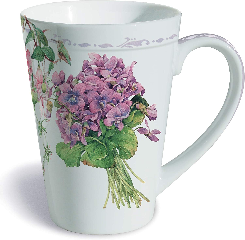12-Ounces Fresh from The Farm Lissom Design Porcelain Mug
