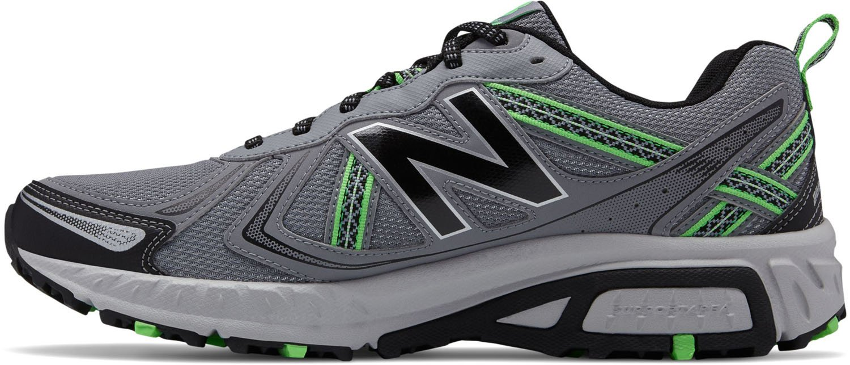New Balance Mens Cushioning MT410 Shoes B0751MQX5R 11.5 4E US Grey