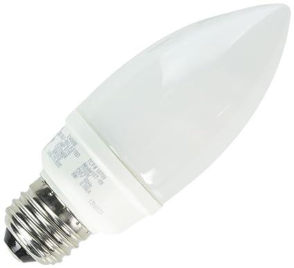 Tcp 40 watt equivalent cfl decorative chandelier light bulb tcp 40 watt equivalent cfl decorative chandelier light bulb standard e26 base non aloadofball Images