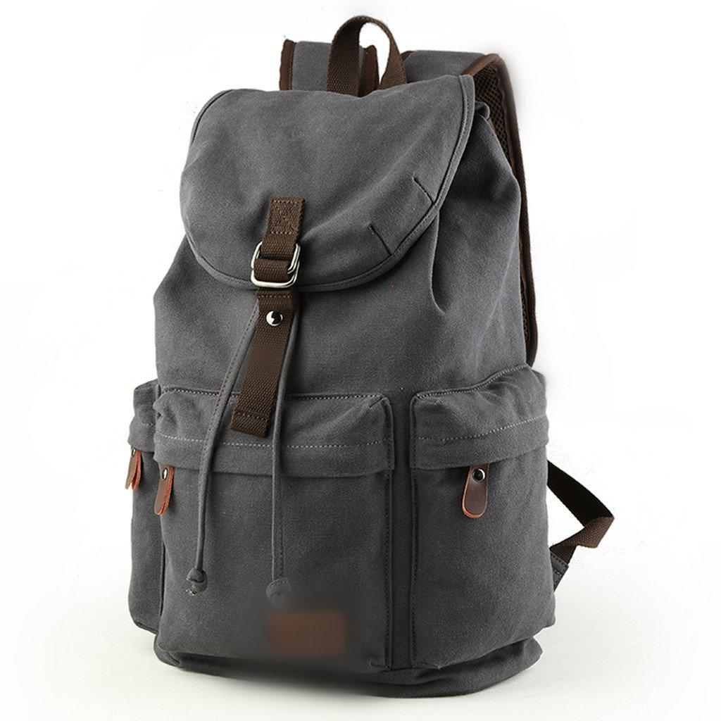 CozyホームAAA韓国語バージョンのバックパックメンズカジュアルバッグ旅行バッグコンピュータバッグ B07FVL928R カーキ