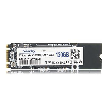 vaseky M.2 2280 PC de sobremesa portátil de disco de estado sólido MLC disco duro SSD NGFF SSD V900 22 x 80 mm 120 GB: Amazon.es: Informática