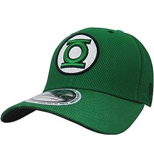 Green Lantern John Stewart Symbol 39Thirty Fitted Hat- Medium Large ... be90b1823e8