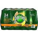 Perrier Sparkling Natural Mineral Water, Lemon Orange 16.9-ounce plastic bottles (Pack of 48)