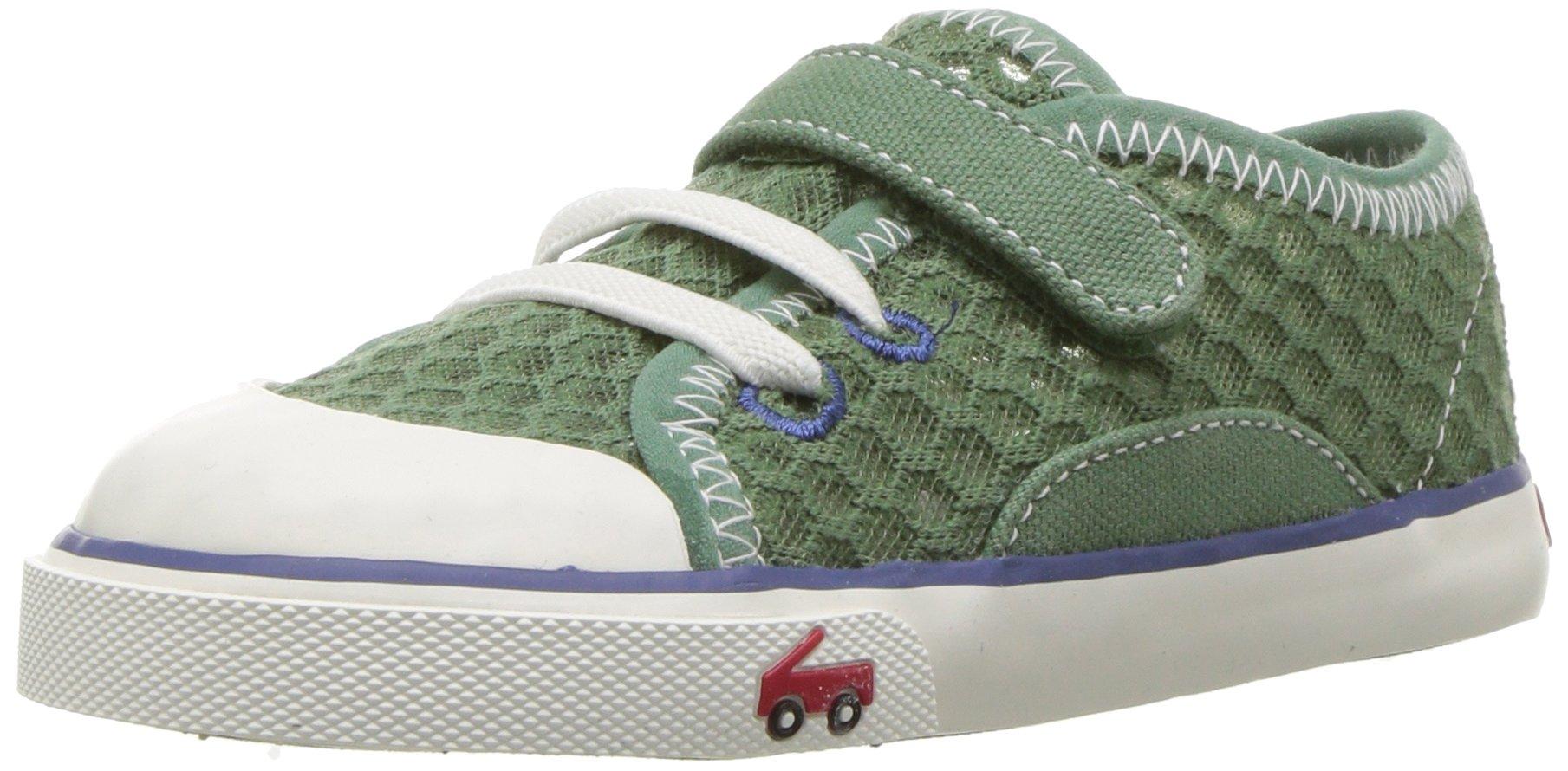 See Kai Run Boys' Saylor Sneaker, Green, 10 M US Toddler