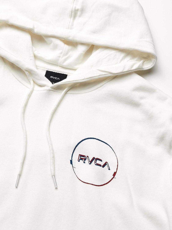 RVCA Mens Logo Pack Pullover Hooded Sweatshirt