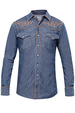 f399cd949eb Ranger s Western Shirt - Toro Bravo 013CA01 at Amazon Men s Clothing ...