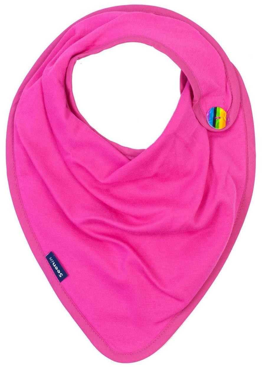 Adultos Dribble babero con discapacidad Bandana pa/ñuelo de ropa pantalla Kerchief necesidades especiales adicionales color morado