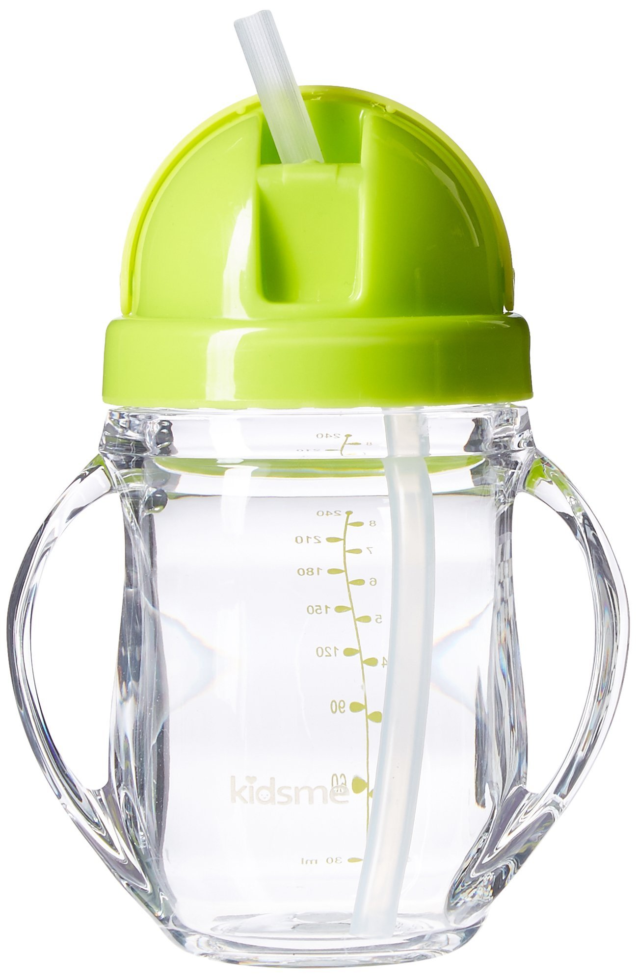 Kidsme Spill Proof Tritan Straw Sippy Cup, Green