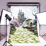 LOVE_BABY Thin Vinyl Seamless Studio Background Wonderland Photo Backdrop Movie Theme Photography Prop 5x7ft/150x210cm 6695