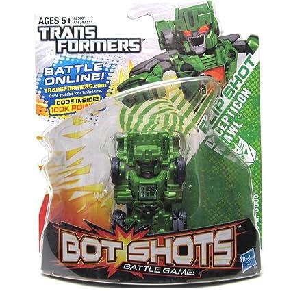 Amazon.com: Transformers, Bot Shots Series 2 Figure, Flip ...