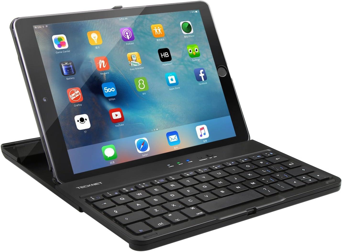 TeckNet X363 ultra-delgado Apple iPad aire 2 nd teclado ...