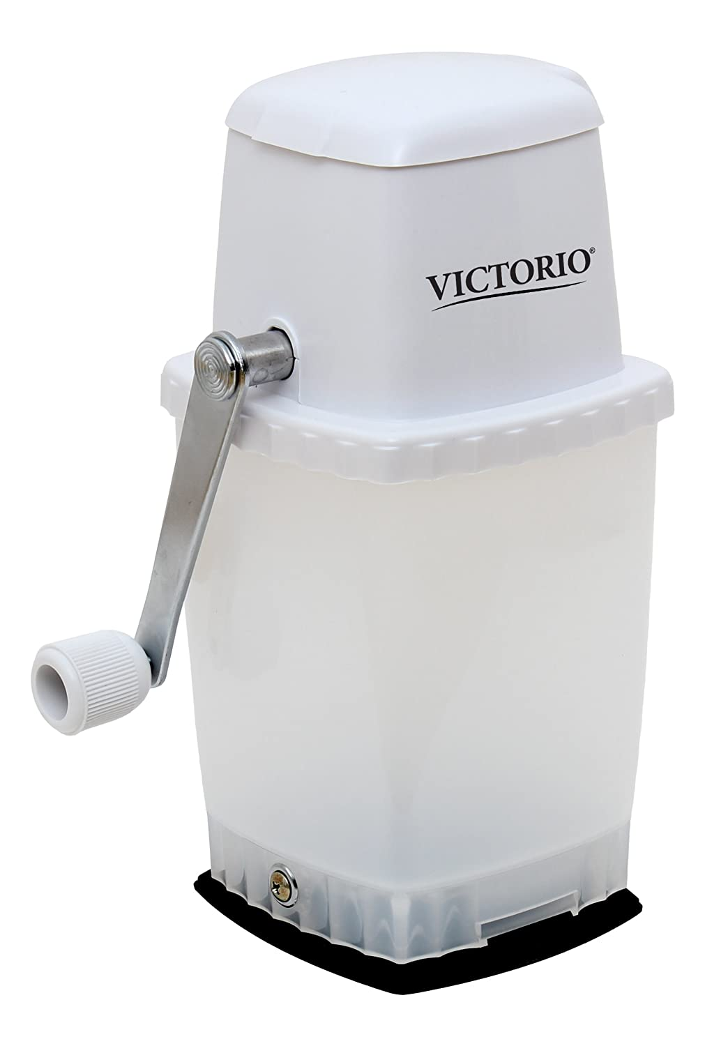 Portable Hand Crank Ice Crusher by VICTORIO VKP1126 Palmer Wholesale