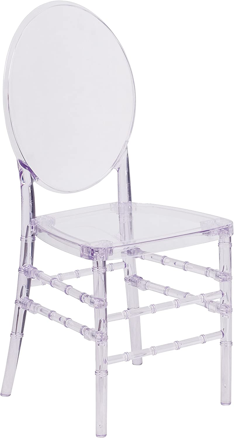 Flash Furniture Flash Elegance Crystal Ice Stacking Florence Chair